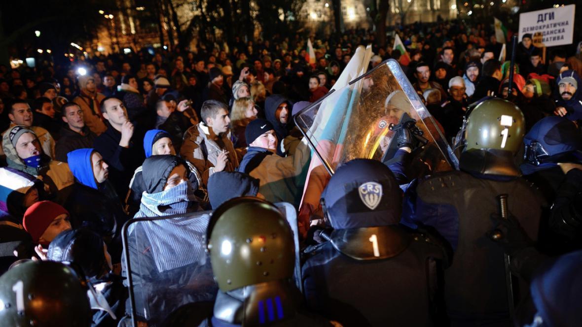 Bulhaři se bouří proti cenám energie