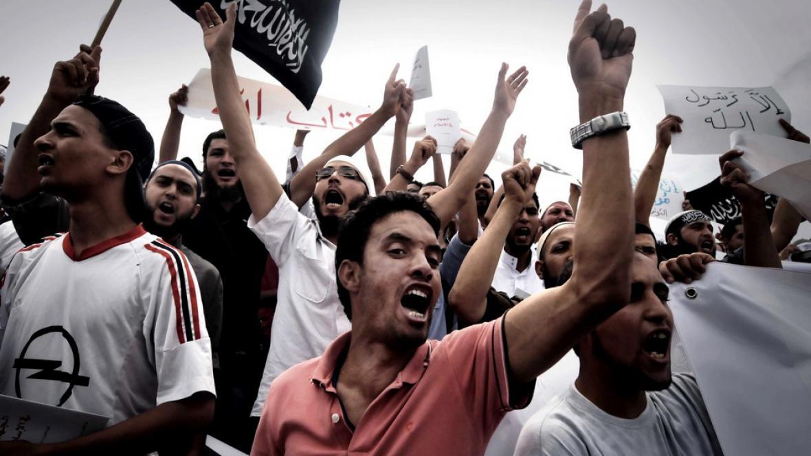 Nepokoje v Tunisu