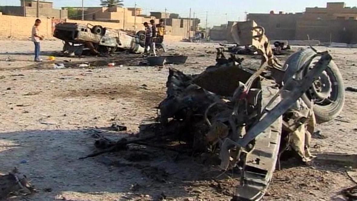 V Iráku zabíjely bomby