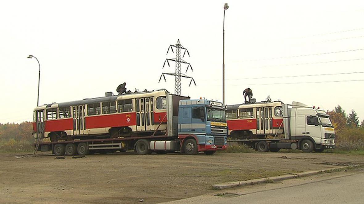 Stěhování tramvají