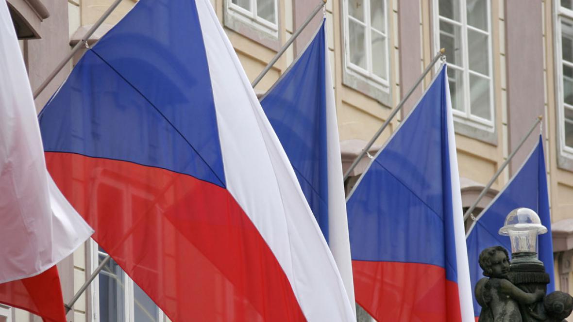 České vlajky