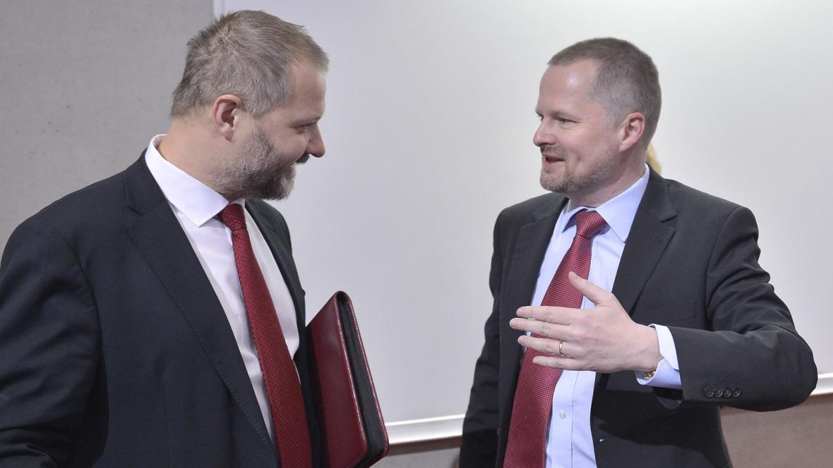 Václav Hampl a Petr Fiala