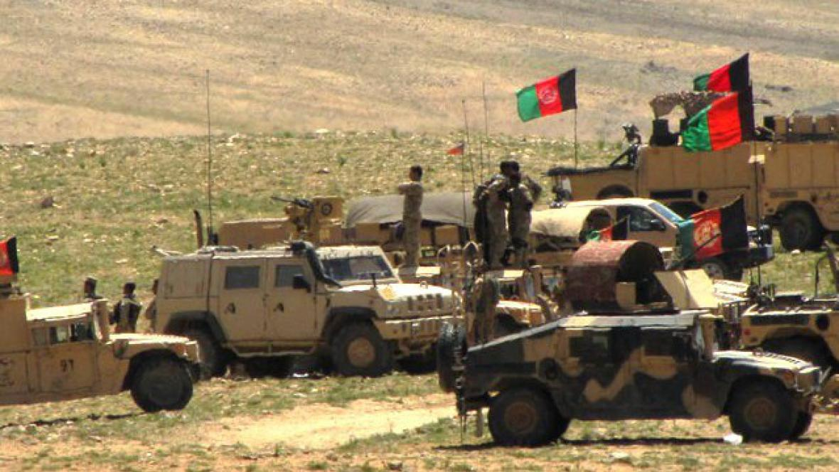 Afghánská a česká armáda