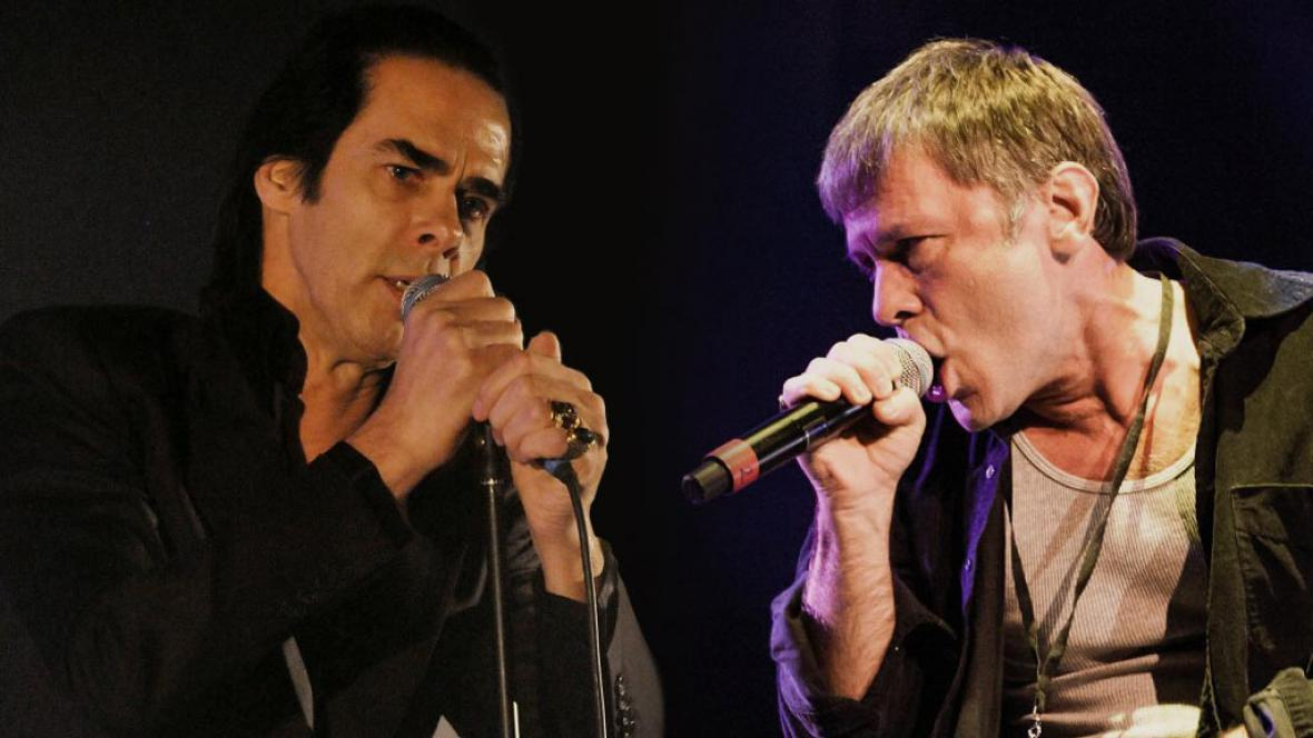 Nick Cave a Bruce Dickinson