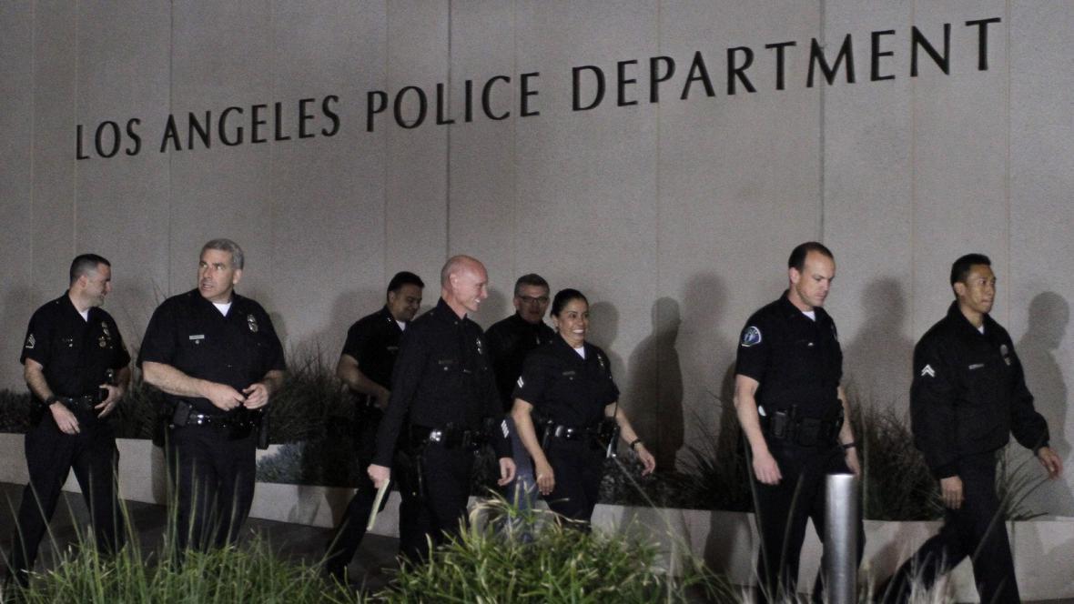 Policie v Los Angeles