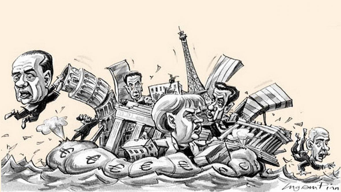 Karikatura Financial Times