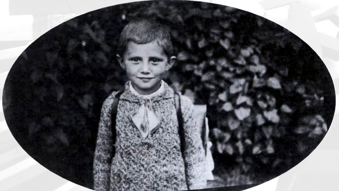 Pětiletý Joseph Ratzinger