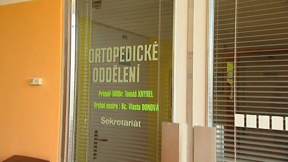 Ortopedické oddělení