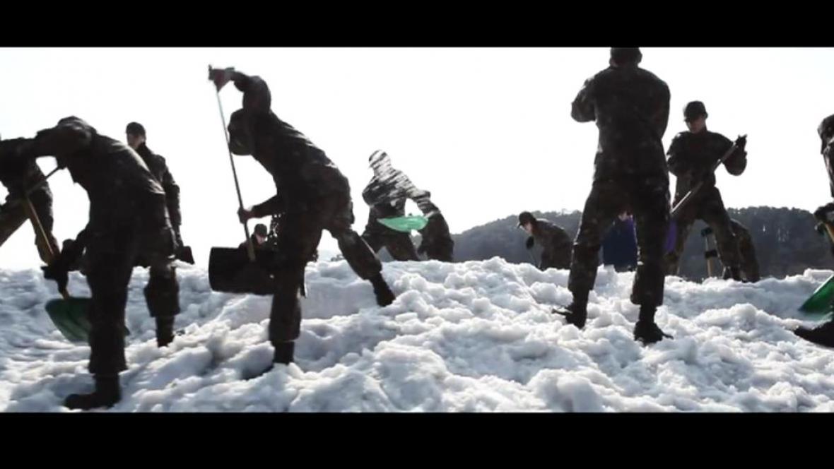 Jihokorejská parodie na Bídníky
