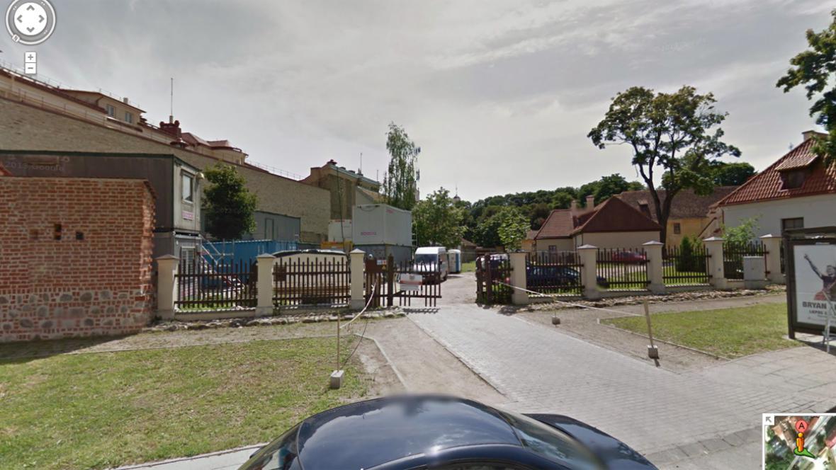 Street View ve Vilniusu