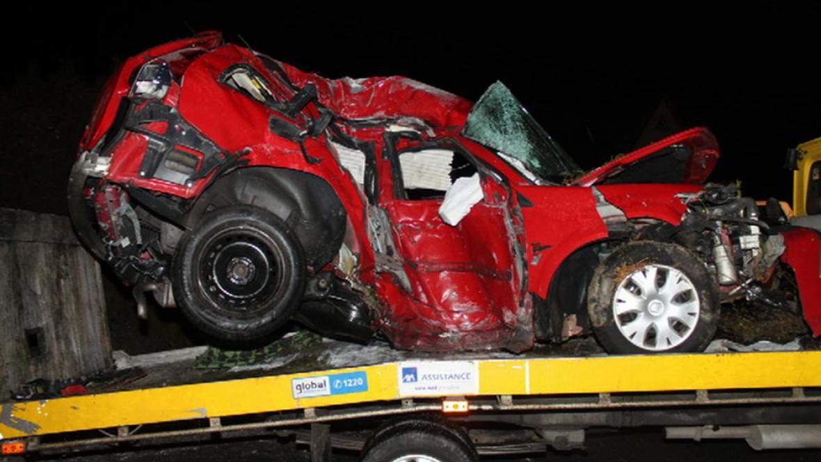Automobilová havárie