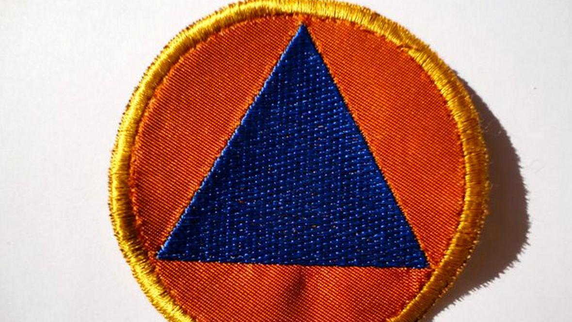 Znak jednotek civilní obrany