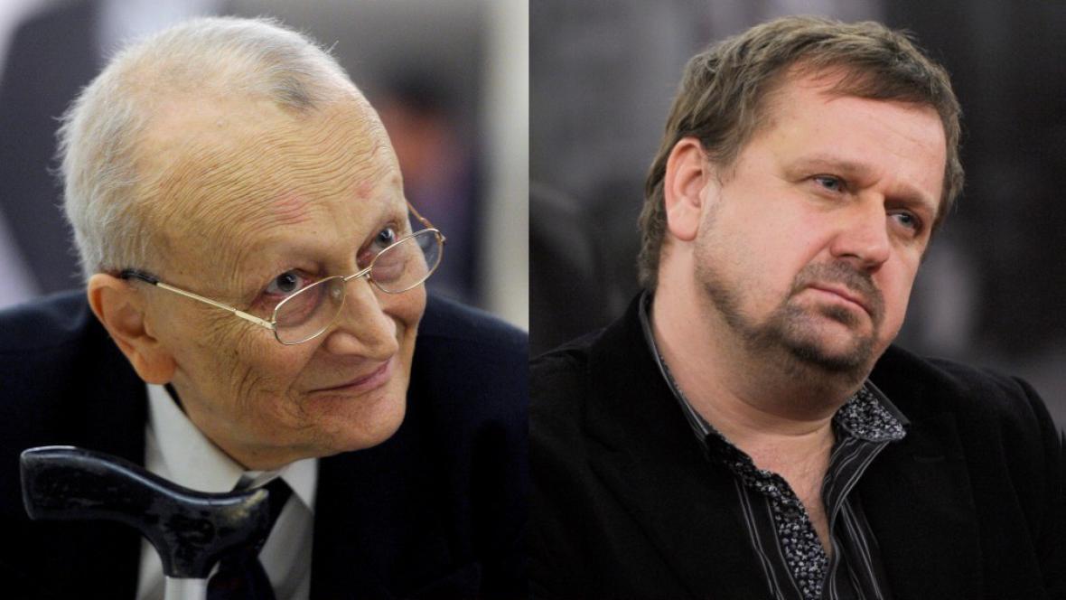 Petr Příhoda a Petr Fischer