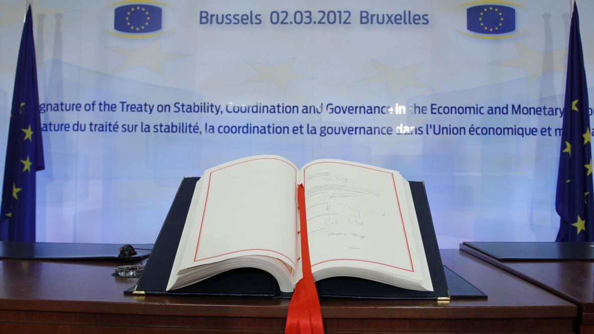 Podpis fiskálního paktu