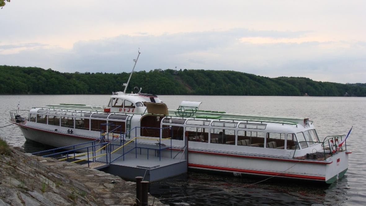 Loď Dyje