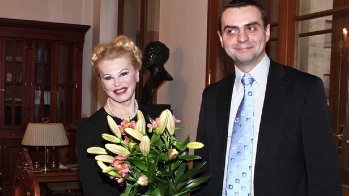 Dadja Altenburg-Kohlová a Václav Pelouch