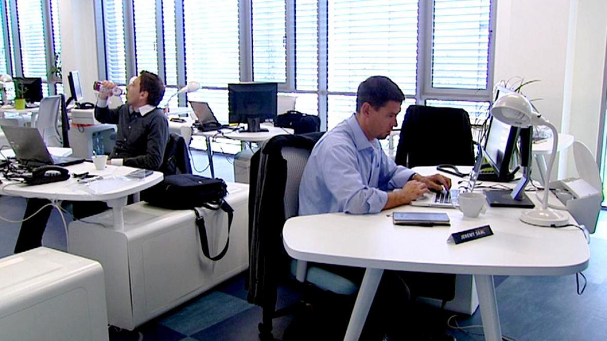 Zaměstnanci ve firmě