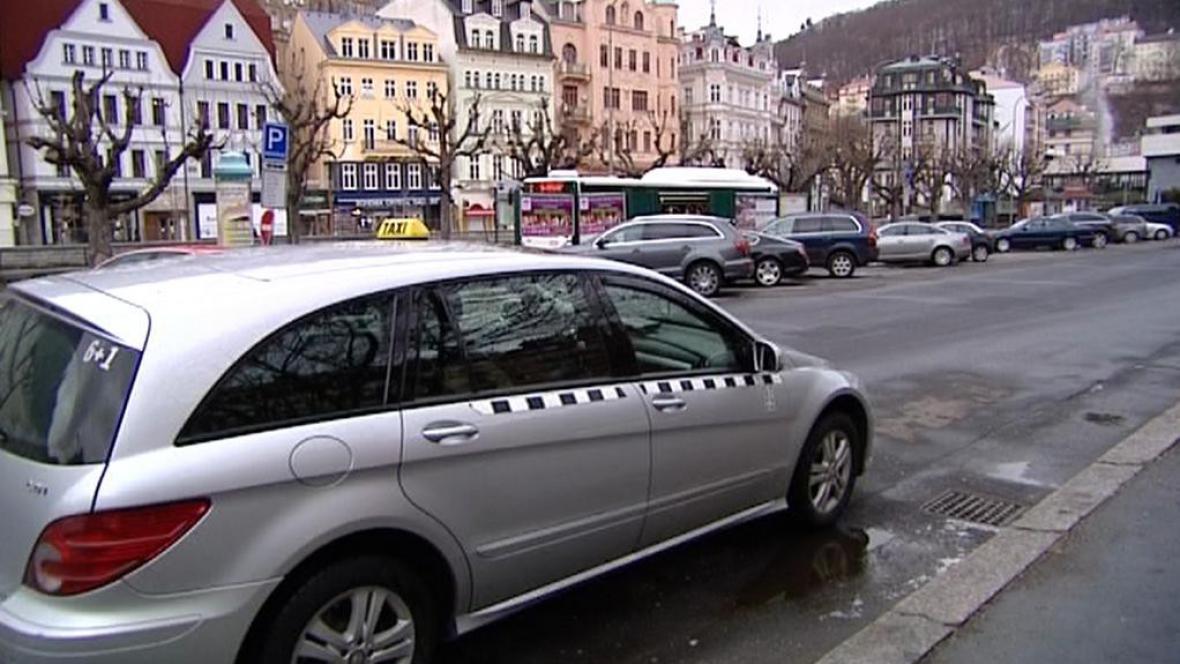 Taxi v Karlových Varech