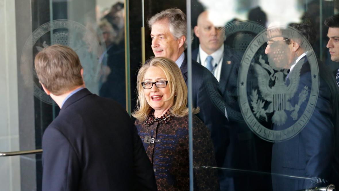 Hillary Clintonová opouští ministerstvo zahraničí