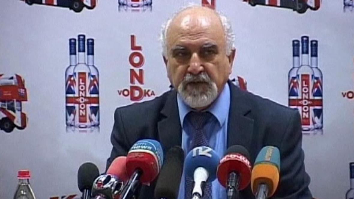 Kandidát na úřad arménského prezidenta Parujr Ajrikjan