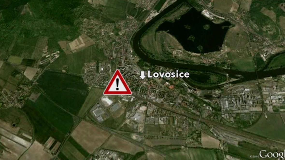 Nehoda u Lovosic