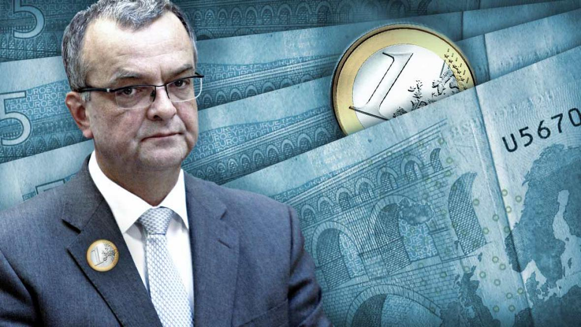 Miroslav Kalousek a euro