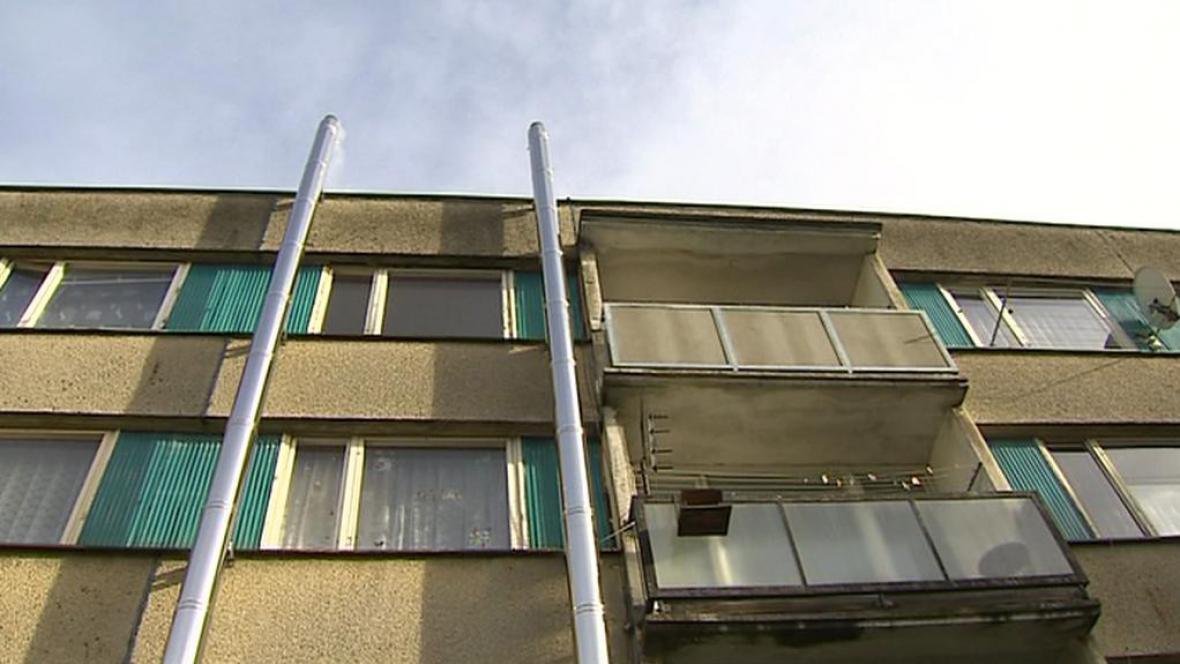 Panelové domy s komíny