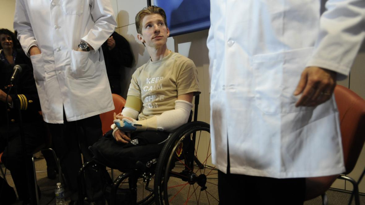 Brendan Marrocco podstoupil transplantaci paží