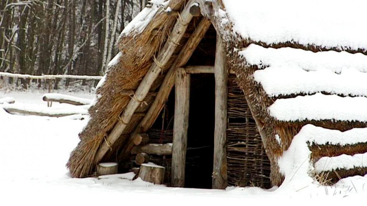 Nedostavěný keltský skanzen v Nasavrkách