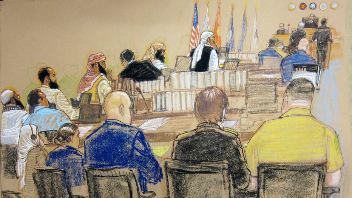 Soudní kresba