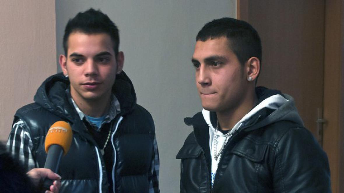 Odsouzený Ivan Demeter (vpravo)