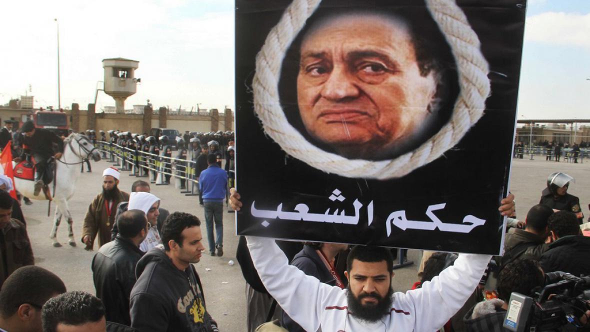 Soud s Husním Mubarakem