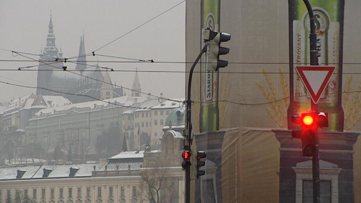 Poutače v Praze