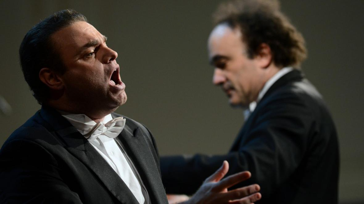 Joseph Calleja a Frédéric Chaslin