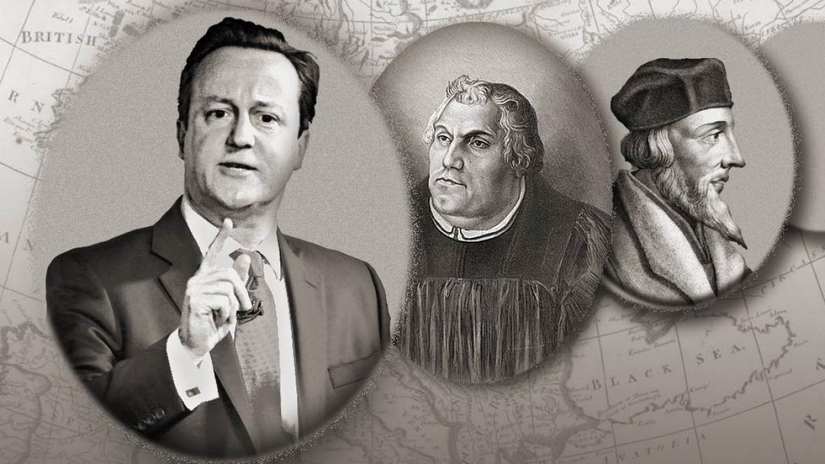 David Cameron se zařadil k předním evropským kacířům