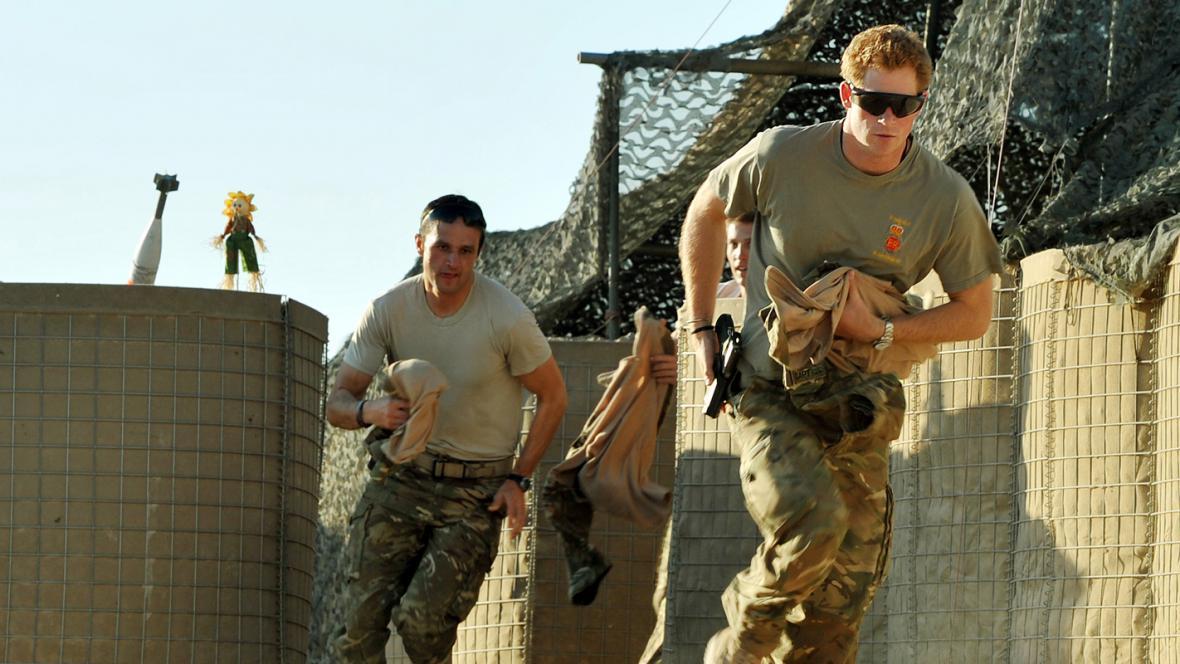 Princ Harry v Afghánistánu