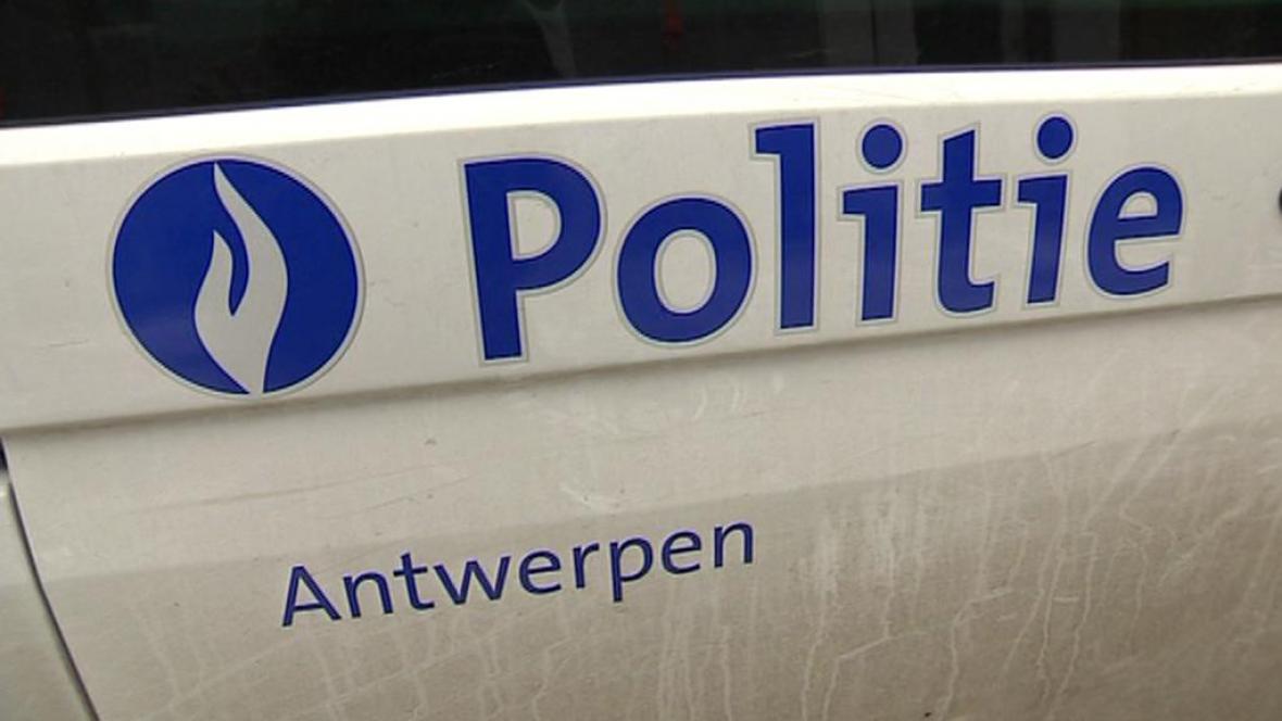 Policie v Antverpách