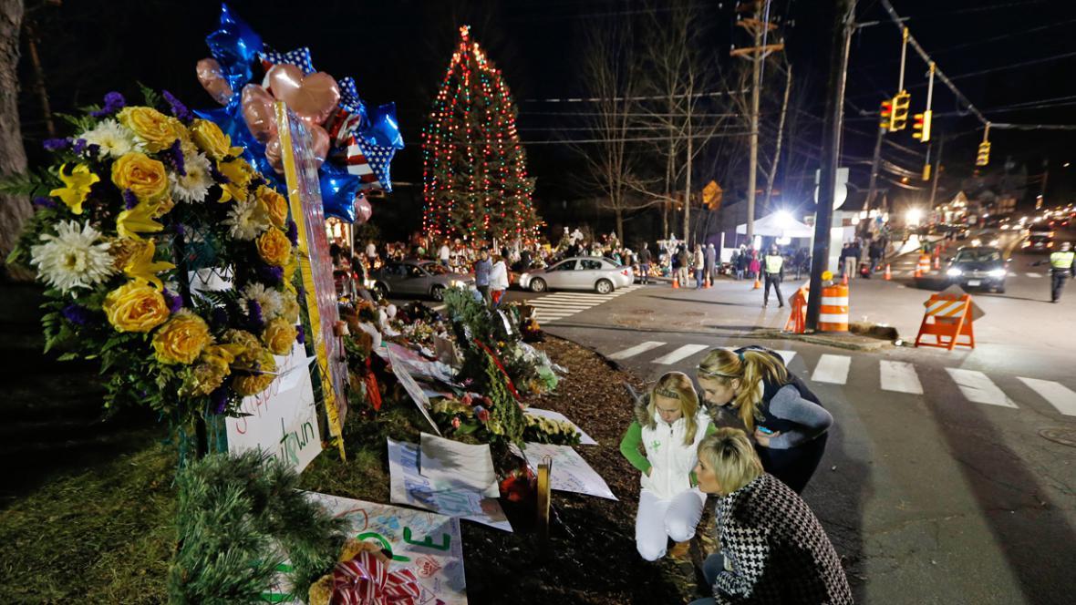 Vzpomínka na oběti z Newtownu