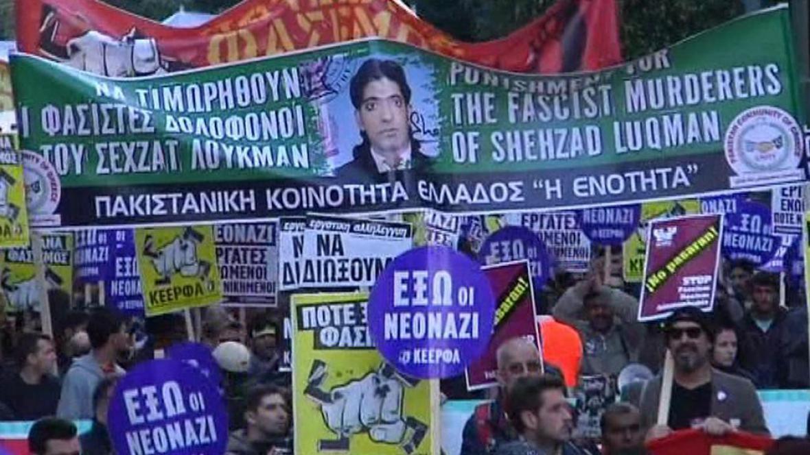 Aténský protest proti rasismu