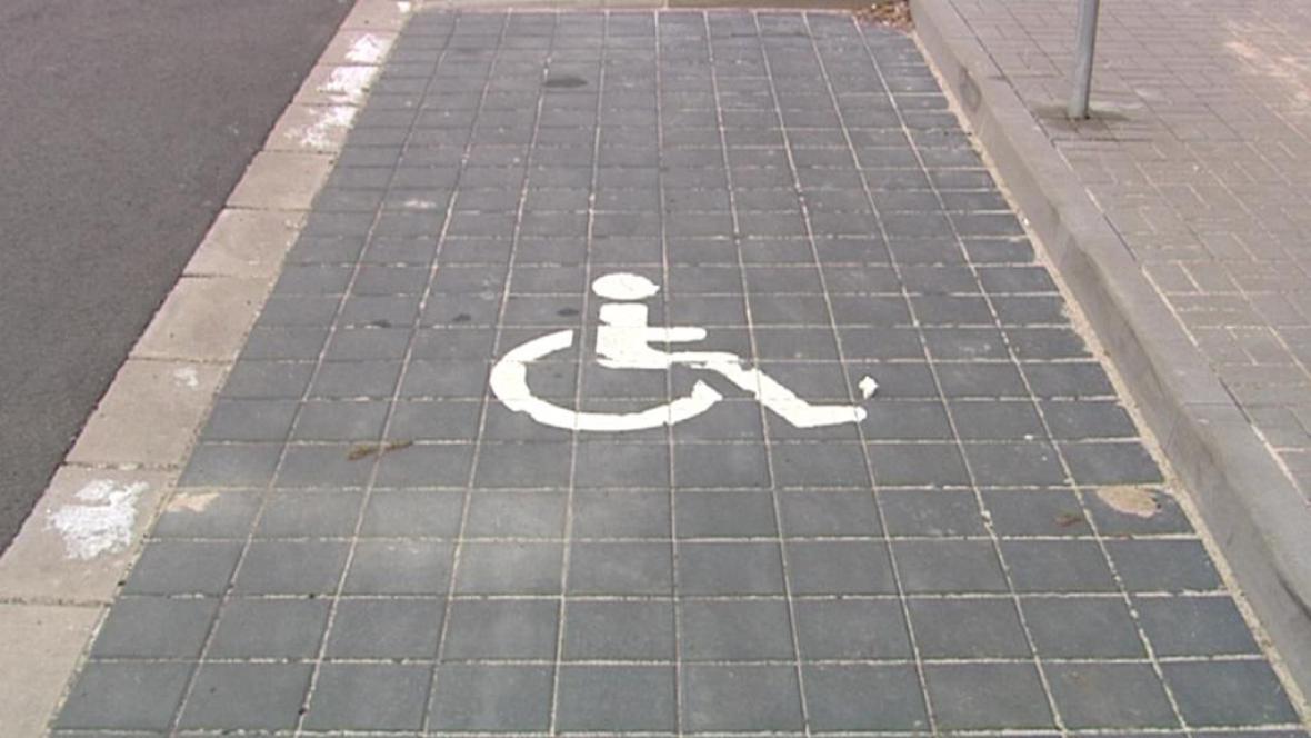 Parkovací místo pro invalidy