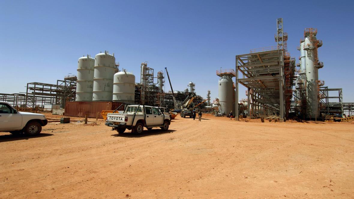 Zařízení na zpracování plynu u Ajn Amanásu