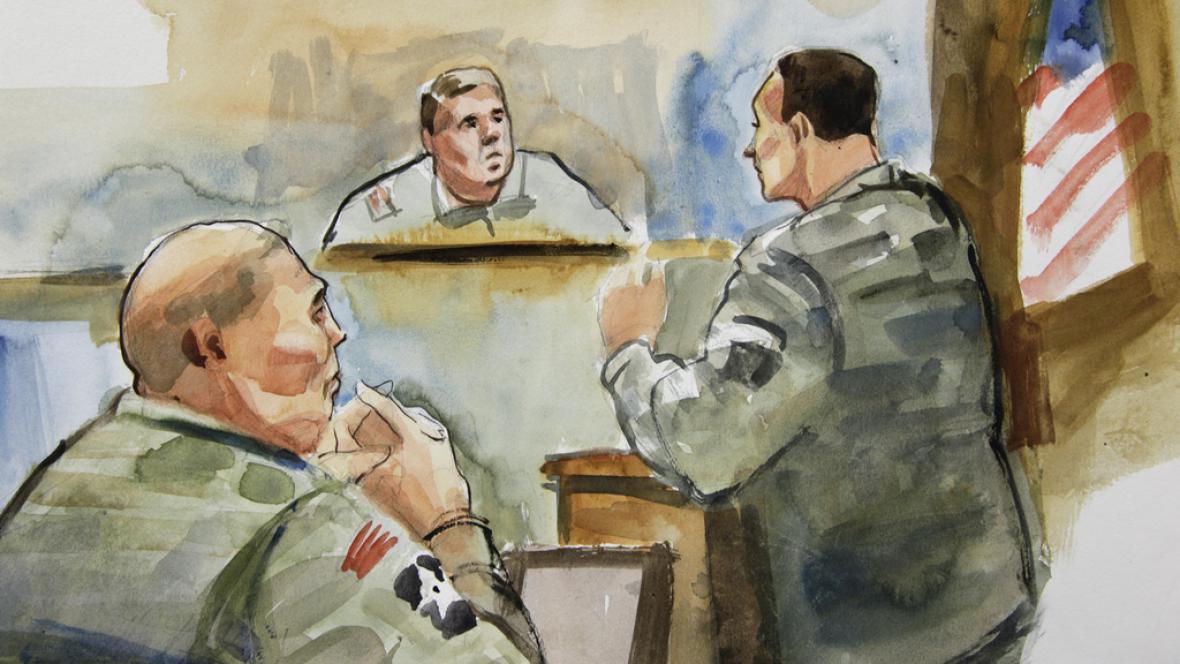 Soudní proces se seržantem Balesem