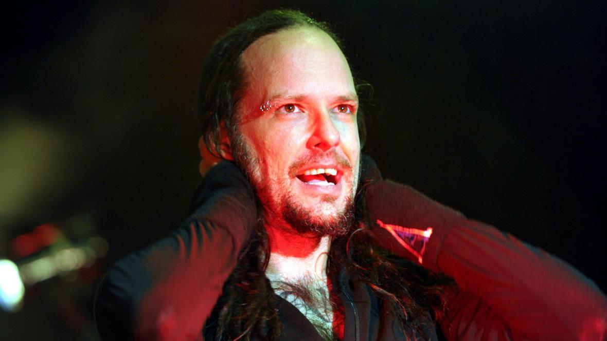 Zpěvák Korn Jonathan Davis na Open Air Festivalu