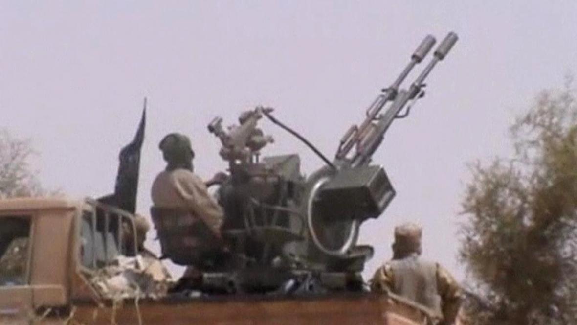 Radikální bojovníci v Mali