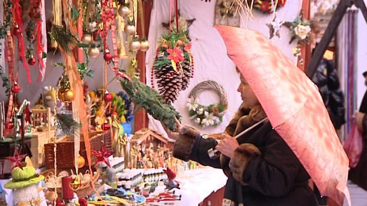 Vánoční trh v Plzni