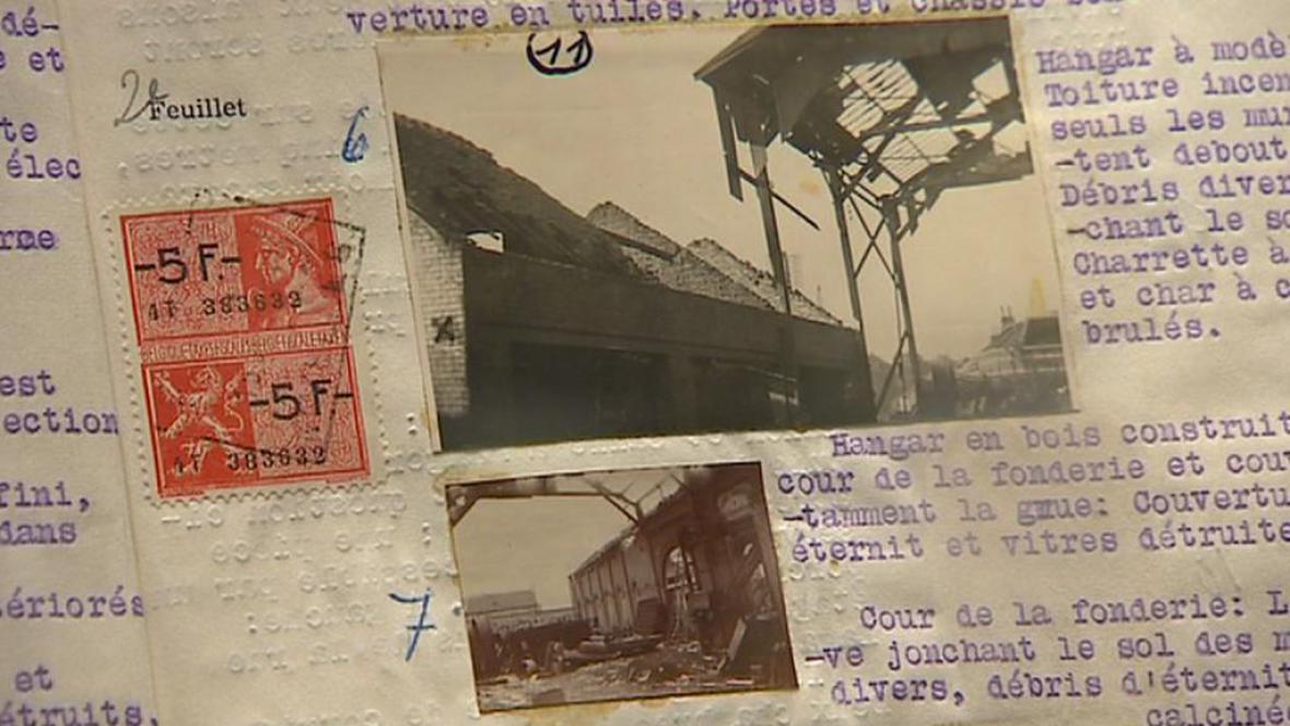 Belgické archivní dokumenty z druhé světové války