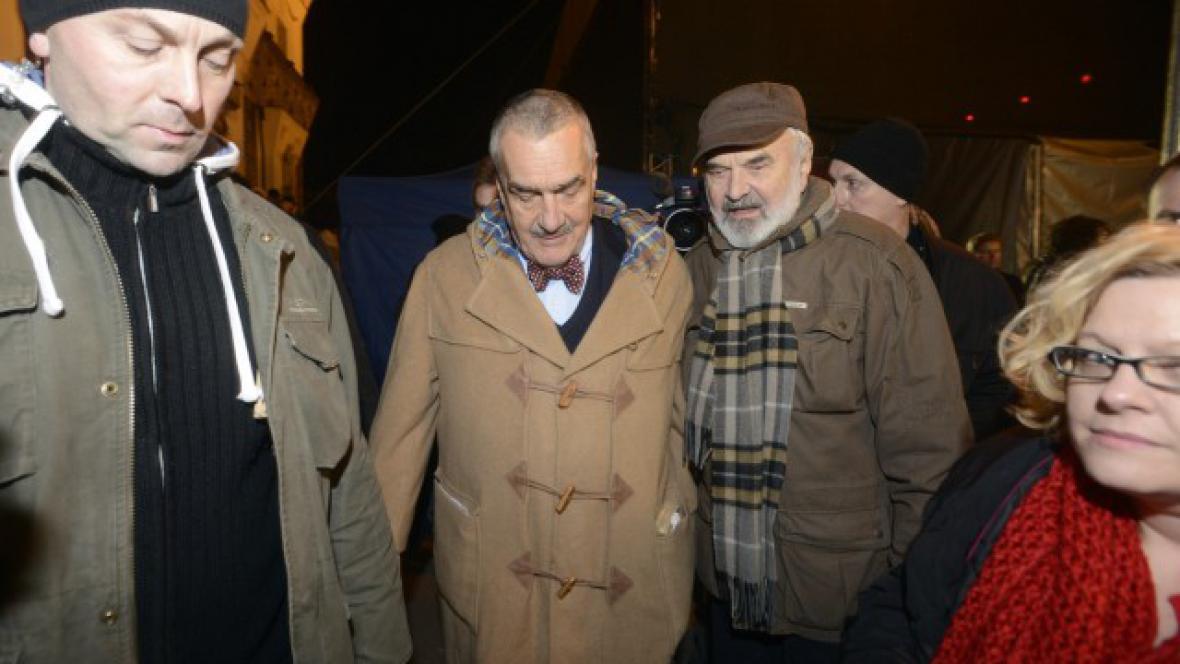 Zdeněk Svěrák a Karel Schwarzenberg