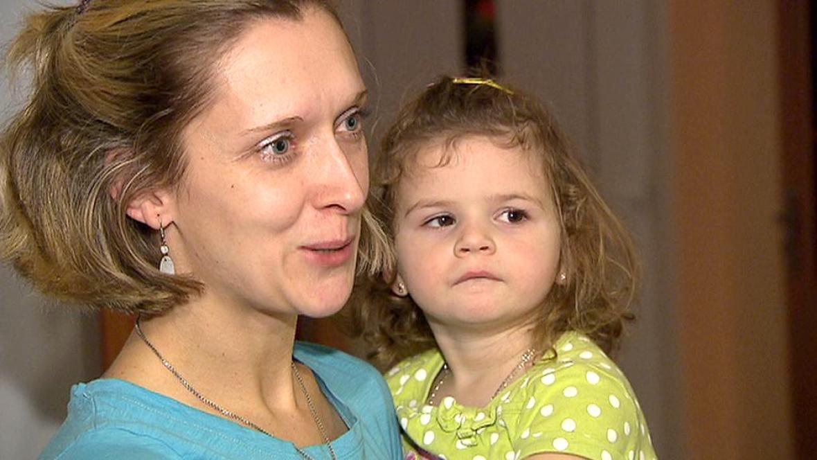Veronika Smutná s dcerou Simonkou
