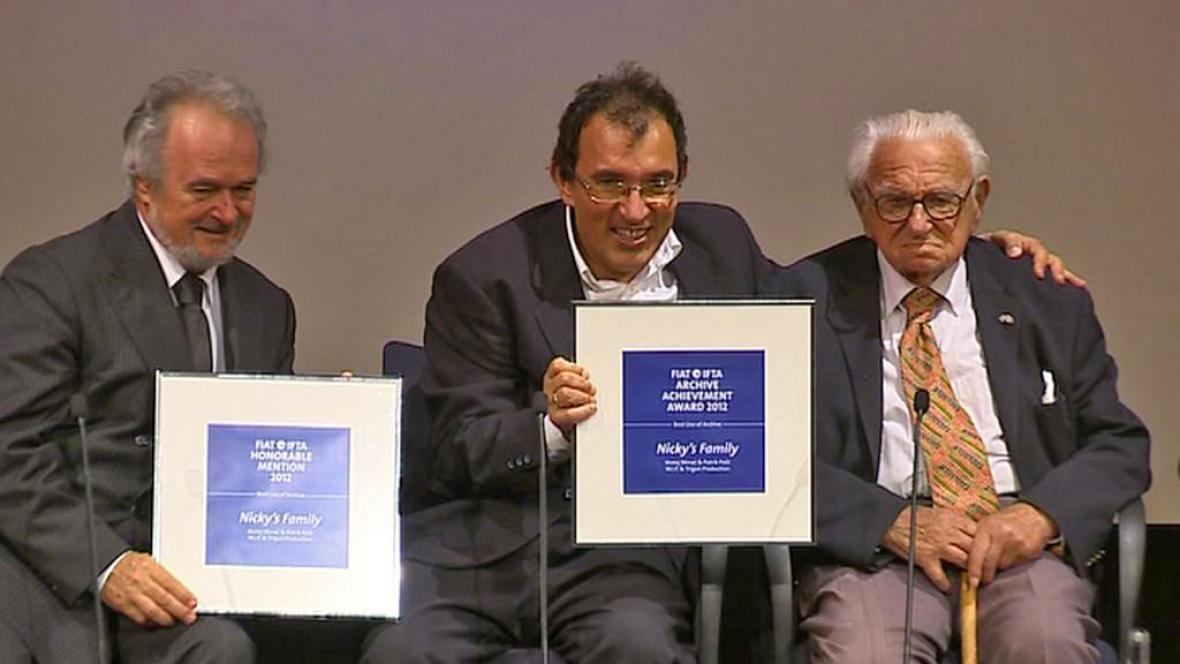 Film Nickyho rodina získal cenu FIAT