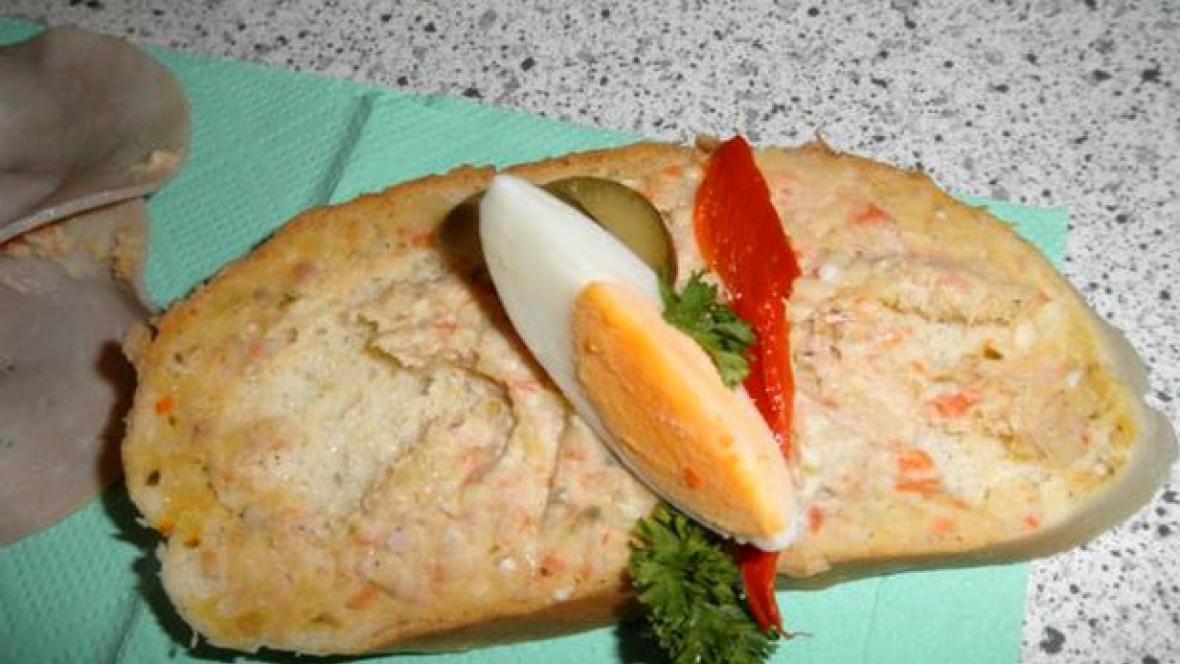 Zkažený chlebíček